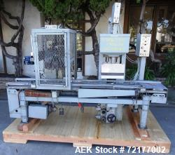 Used- O'Brien Industrial Pail Filler with Crimping Mechanism.
