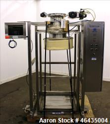 "Used- Extract Technology Pack-Off Isolator. 10"" Diameter filling head with 20-3/4"" diameter cone sealing head. Top pneumatic..."