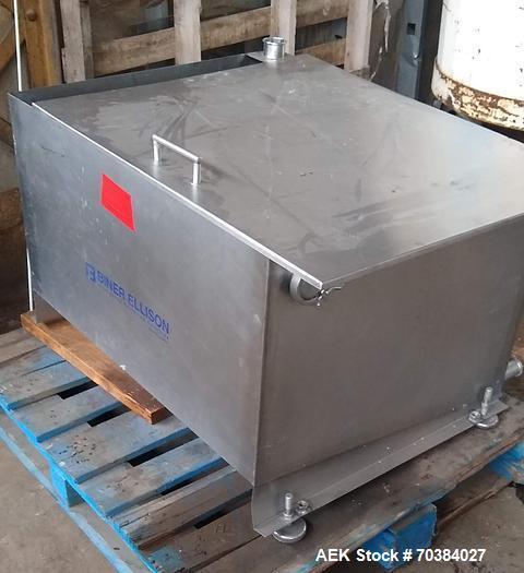 Used- Biner Ellison Pressure Gravity Filler