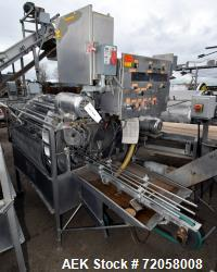 Solbern PTF Tumble Filler, Stainless Steel. Set up for 300 x 407 cans. (4) Fixed drives, air pulse,...