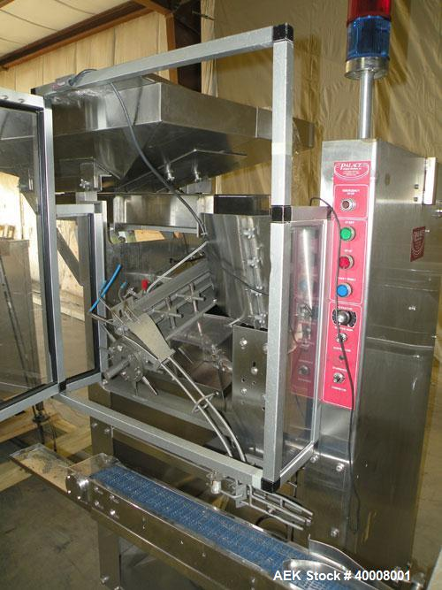 Used- Comas Monoblock Line for Fill/Plug/Cap consisting of: (1) Comas Model RS6 Monoblock Filler, Tipper and screw Capper wi...