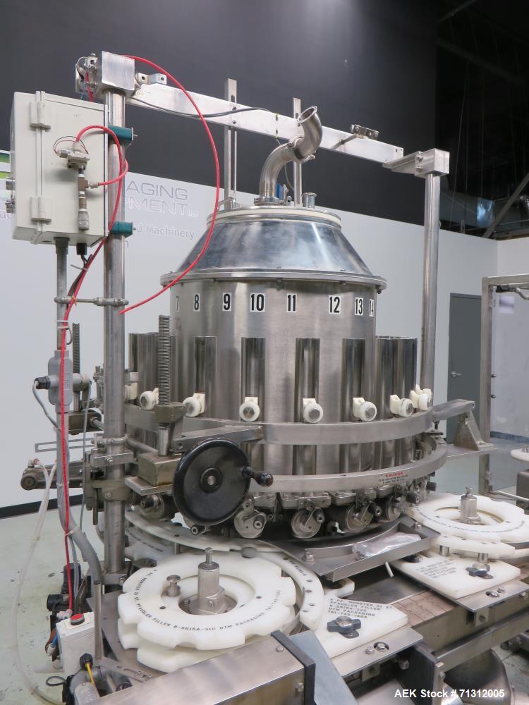 Used- Consolidated Liquid Filler / Capper.