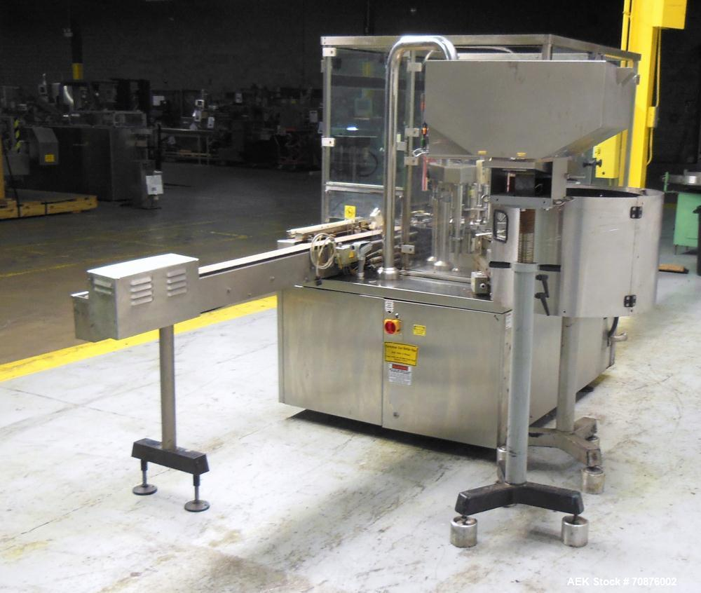 Used- IMA Farmomac Model F87 Liquid Monoblock Filler and Capper