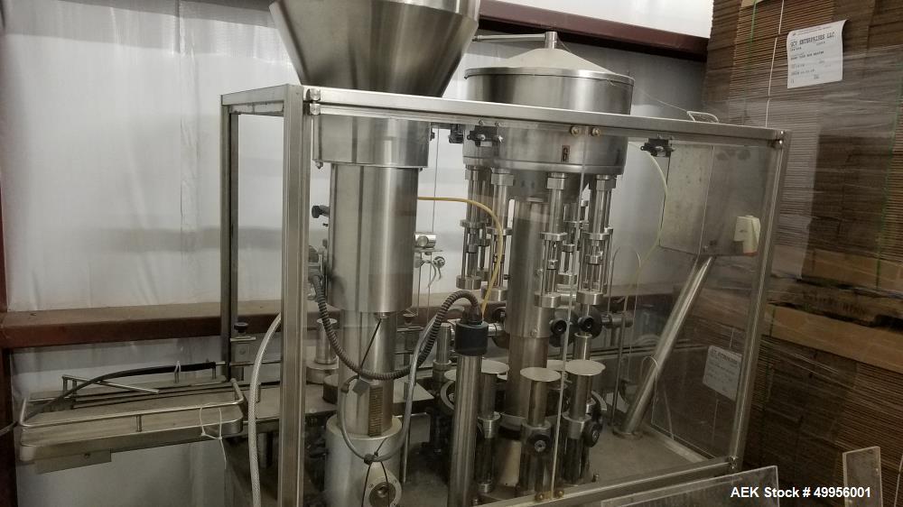 Used GAI Monoblock Wine Bottling Machine