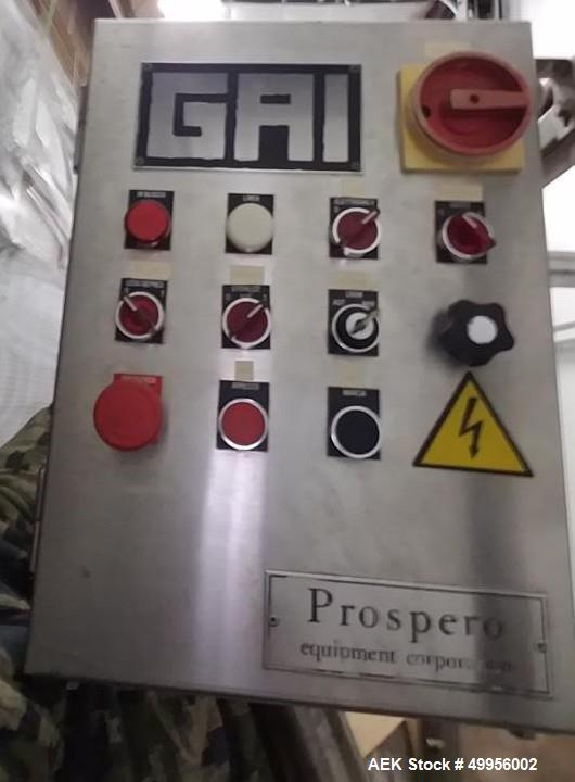 Used- GAI Monoblock Wine Bottling Machine