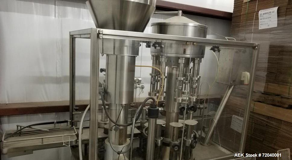 Used Monoblock Liquid Fillers