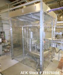 Used- Federal All Stainless Steel 18 Valve HEPA Enclosed Bottle Filler.