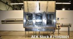 Used- Fogg Model FA4214 High Speed Monoblock Liquid Filler and Capper.