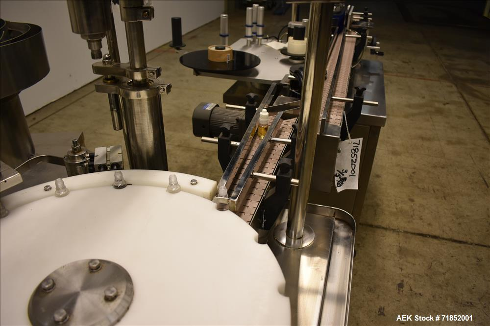 Used-Biaozan Monoblock Filling, Tipping, Capping and Labeling.