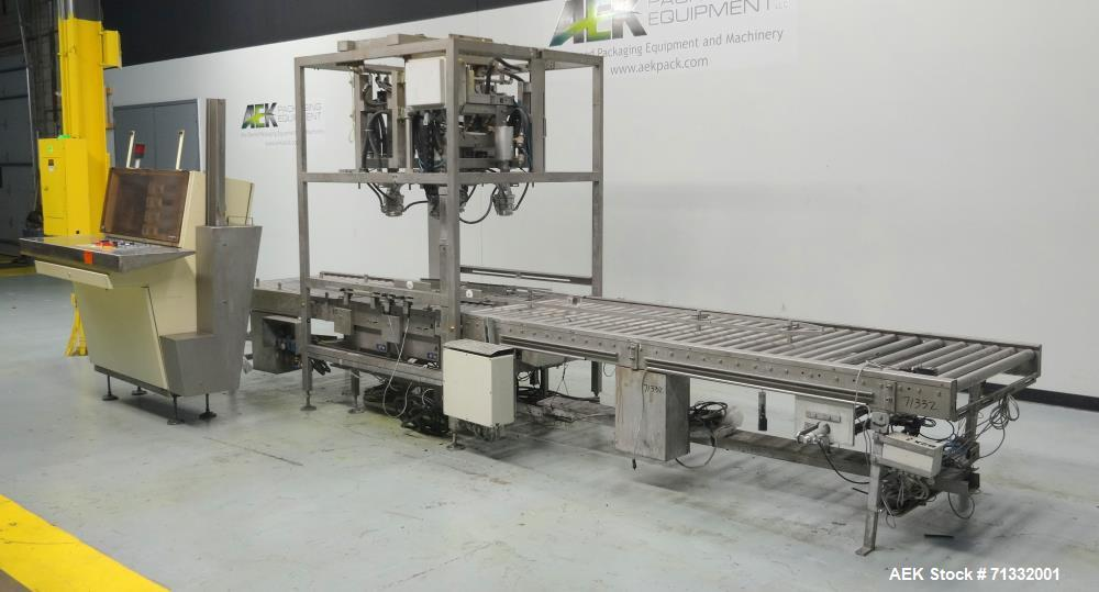 Used- Pattyn Model AVL-4-S Automatic Semi-Liquid Bag-In-Box Weigh Filler