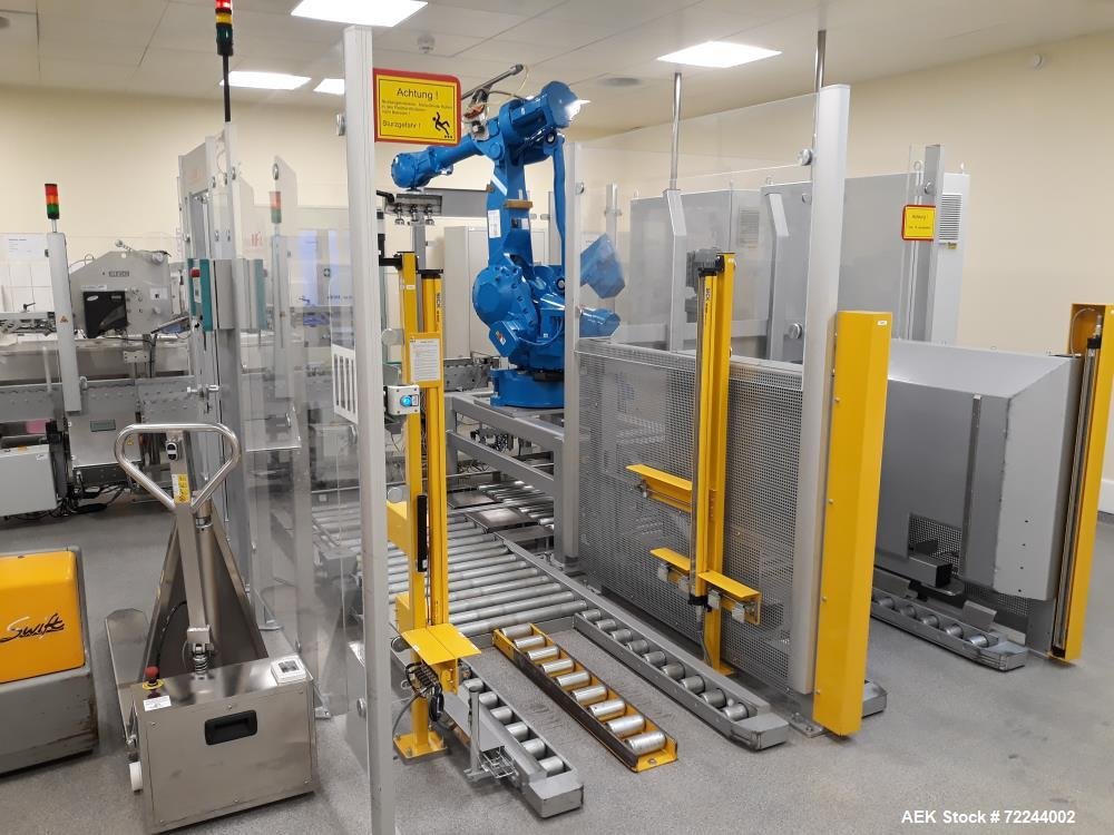Used- Glass Bottle Infusion Format Filling Line