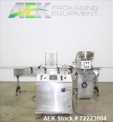 Used- Cozzoli VR2 Monoblock Liquid Filler and Stoppering Machine