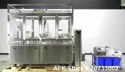 Used- M&O Perry Model SFA-1 Vial Cartridge Placer and Filler System