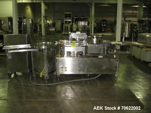 Used- (Bosch) TL Systems FSM-1010 Sterile Injectible Vial Filling Line