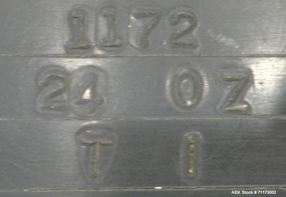 Used- Laub Hunt Posifiller 16 Head Rotary Piston Filler