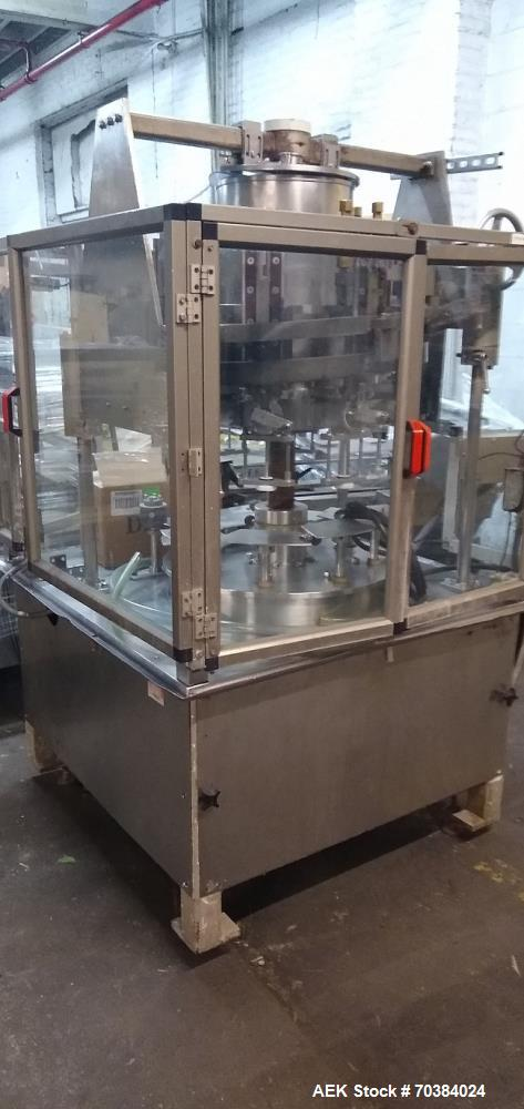 Used - MRM Rotary 8 Piston Filler with Liter Sized Pistons