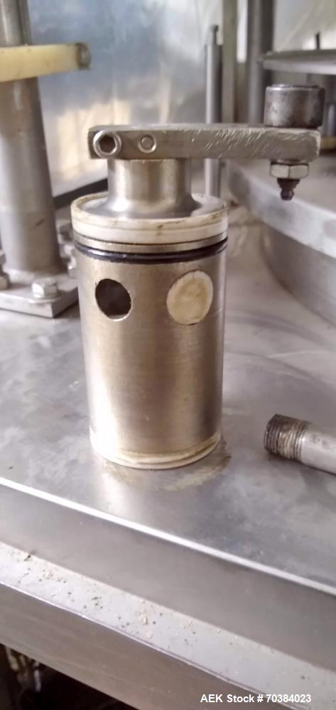 Used- MRM Rotary Auto 16 Piston Filler