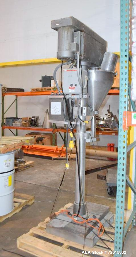 Used-Stainless Steel Auger Filler.  No Mfg. Tag.