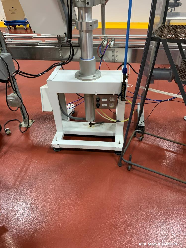 Used-AMS Model A400 Automatic Inline Auger Filler