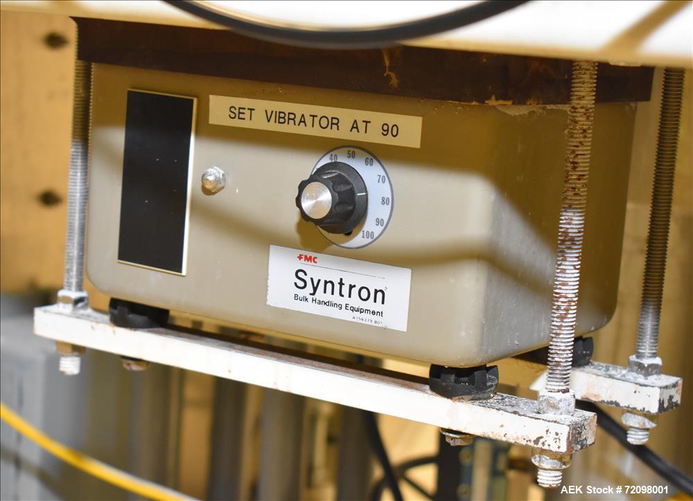 Used- Mateer Burt  Dual-Head Powder Auger Filler, Model 4020