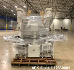 Used- All Fill Model DHAA-400 Dual Head Automatic Inline Auger Filler