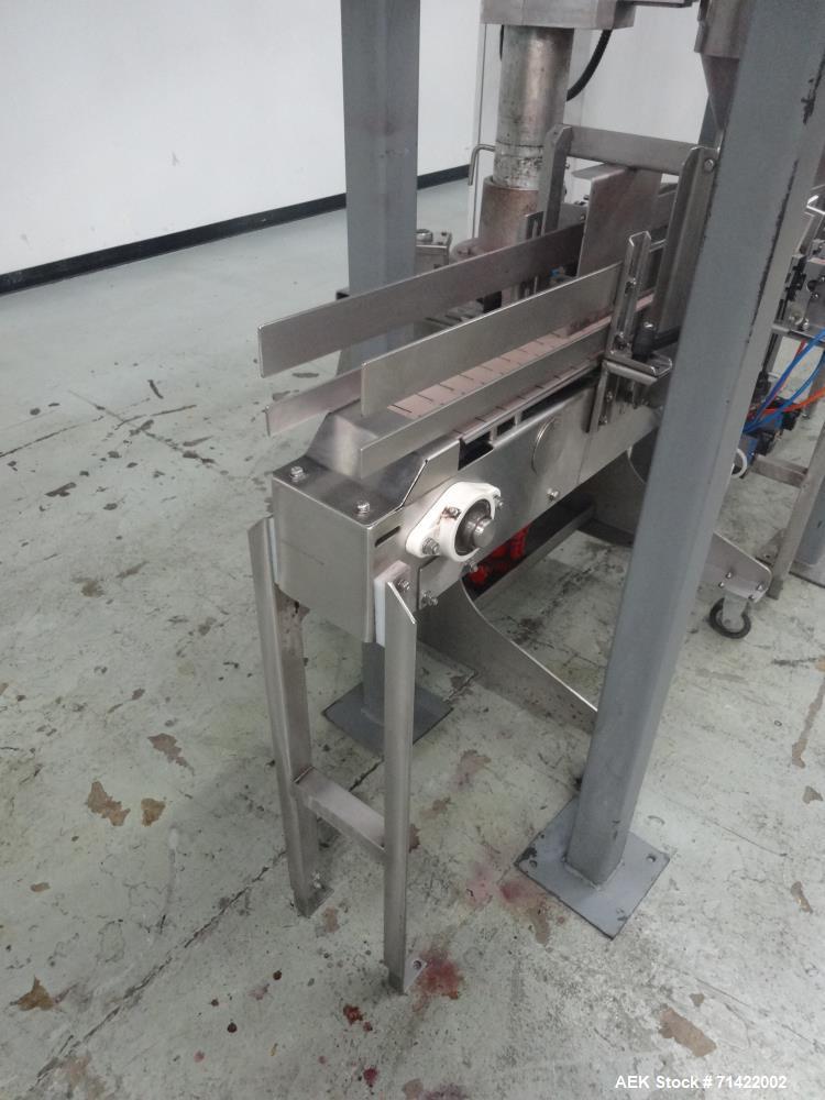 Used- Nalbach Powder Auger Filler. Model NAF-1000-D