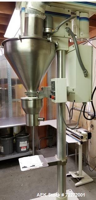 Used- Mateer-Burt Semi-Automatic Powder Auger Filler