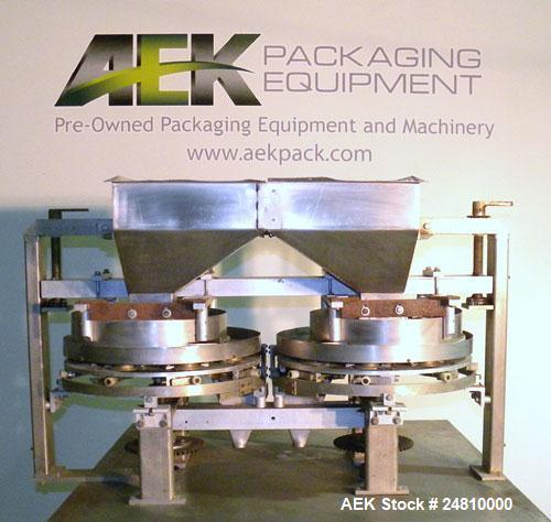 Used- Stainless Steel Bartelt Dual Volumetric Filler