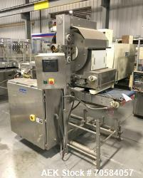 Used- Quantum Model WF3000-16 Waterfall Toppings Applicator.