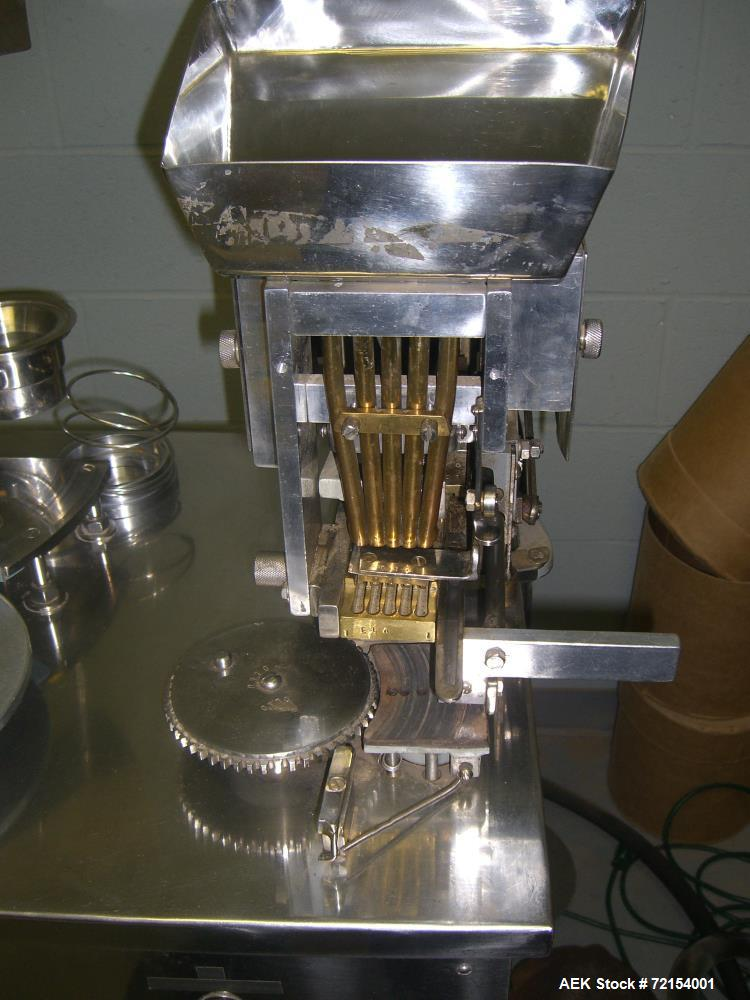Used- Erli Maquinas Semi-Automatic Capsule Filler