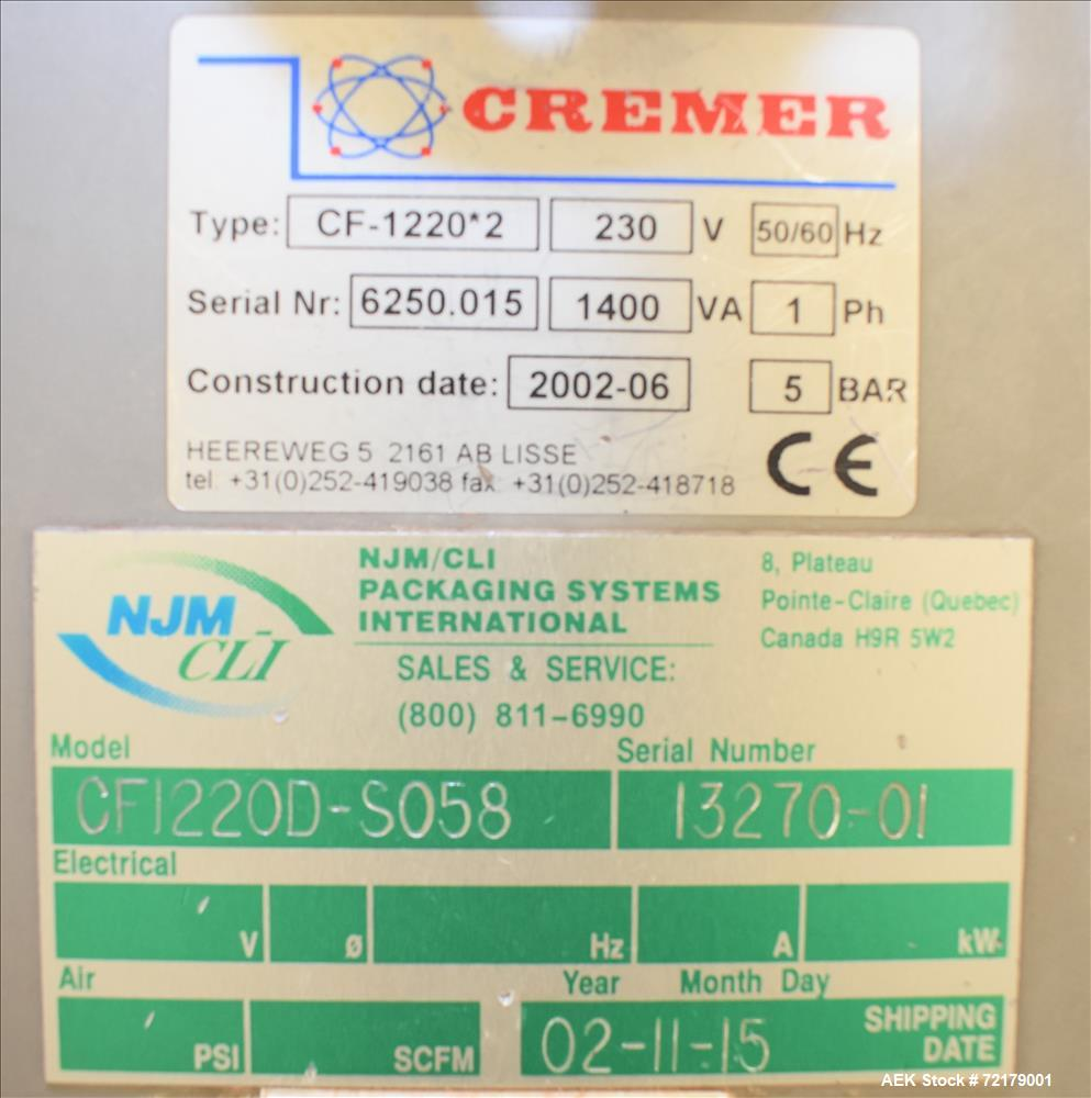 Used- Cremer (NJM/CLI) Electronic Tablet Counter