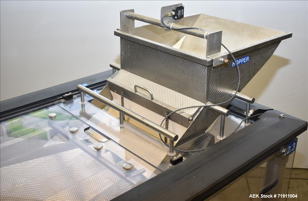 Used- Cremer Electronic Track Counting Machine, Model TQW-4150 for Frozen Foods