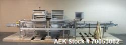 Used IMA electronic vision counter, model Conta C300, dual filling heads with vision system, present...