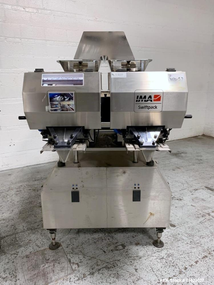 Used- IMA Swiftpack Lane Counter, Model SPCB12P3PTS