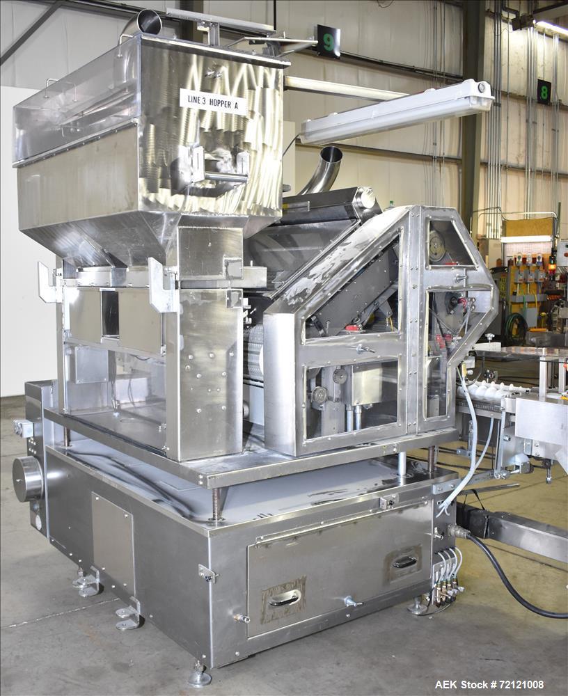 Used- Lakso (IMA) Model 990 Reformer Slat Filler.