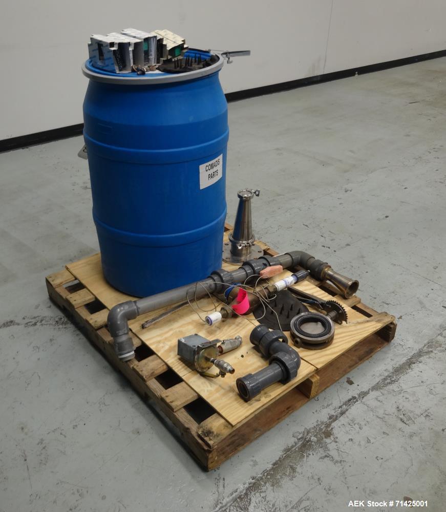 Used- Comadis Model C130 Rotary Plastic Tube Filler