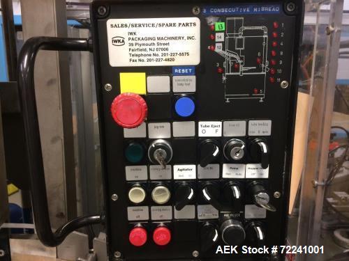 Used- IWKA TFS20 Hot Air Tube Filler