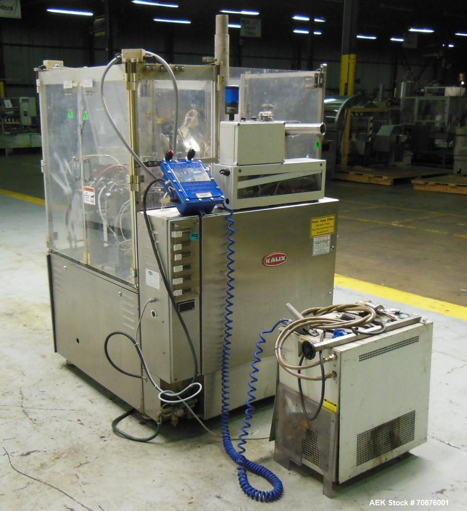 Used- Kalix Model KX100 Plastic Tube Filler