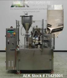 Used- Comadis Model C130 Rotary Plastic Tube Filler