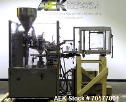 Used- Kalix KX70 Hot Air Plastic Tube Filler.