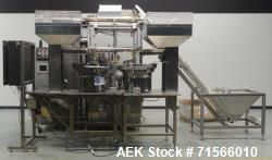 Used- Unipac Model 240 Dual Head Plastic Tube Filler