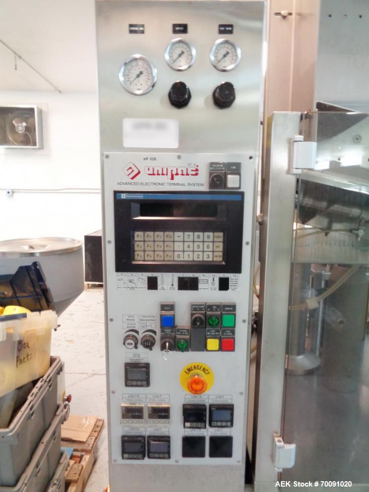 Used- Unipac Rotary Plastic Tube Filler