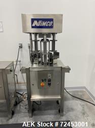 Used-Nimco CAP PAC Model CP70 Spout Applicator/Welder Bench Unit