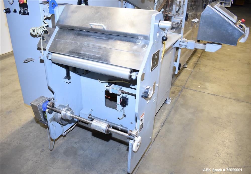 Used-KHS Bartelt Model IM/S 9-12 Horizontal Form Fill Seal Machine.