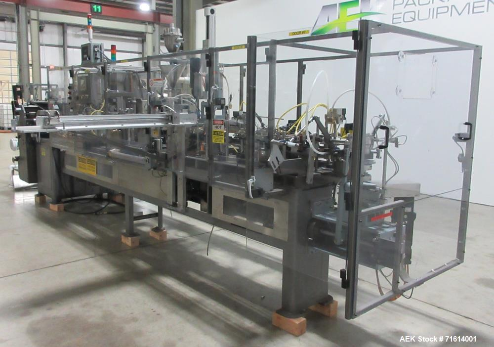 Used- Bartelt Model IM7-14 Servo Horizontal Form Fill and Seal Machine