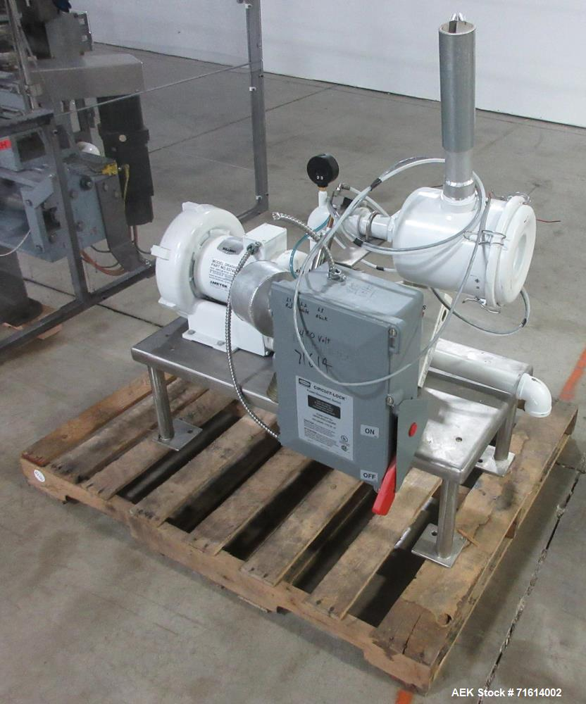 Used- Bartelt (Klockner) Model IM7-16 Servo Horizontal Form Fill and Seal Machin
