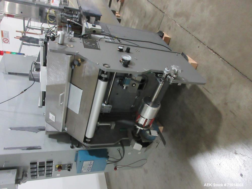 Used- Bartelt Model IM7-16 Servo Horizontal Form Fill and Seal Machine