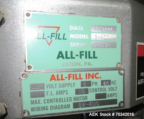 Used- Bartelt Horizontal Form Fill Seal, Model IM9