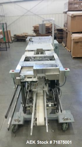 Used- Bodolay Model C-50 Form Fill Seal Machine.