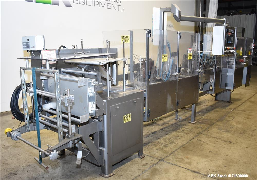 Used- HMC Products, Inc. Horizontal Pouch Form, Fill and Seal Machine, M